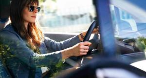 BMW Fahrerin