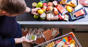 Mobile Payment im Supermarkt