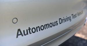 Testfahrzeug automatisiertes Fahren